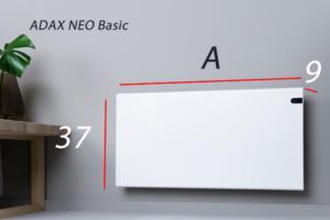 Adax Neo Basic dimensiones